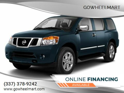 2013 Nissan Armada for sale at GoWheelMart in Leesville LA