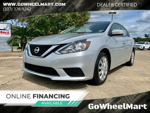 2017 Nissan Sentra for sale at GoWheelMart in Leesville LA