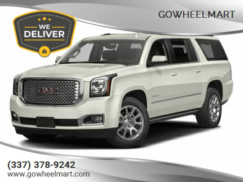 2016 GMC Yukon XL for sale at GoWheelMart in Leesville LA