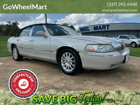 2006 Lincoln Town Car for sale at GoWheelMart in Leesville LA
