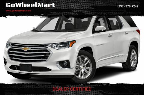 2018 Chevrolet Traverse for sale at GoWheelMart in Leesville LA