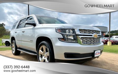 2016 Chevrolet Tahoe for sale at GoWheelMart in Leesville LA