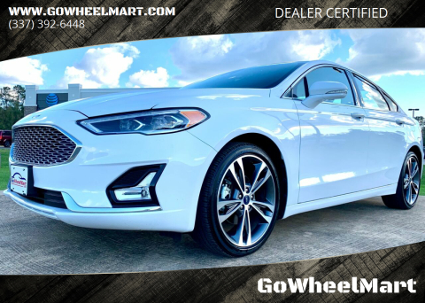 2020 Ford Fusion for sale at GoWheelMart in Leesville LA