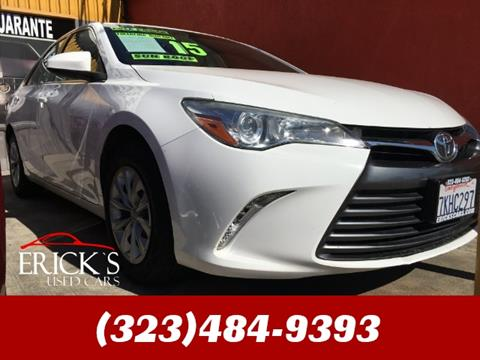 2015 Toyota Camry for sale in Los Angeles, CA