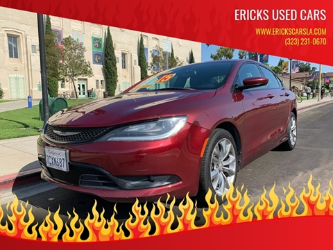 2015 Chrysler 200 for sale in Los Angeles, CA