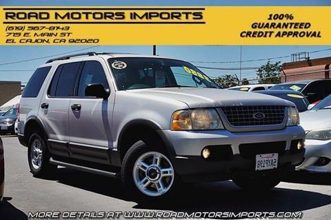 2003 Ford Explorer for sale at Road Motors Imports in El Cajon CA
