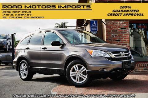 2011 Honda CR-V for sale at Road Motors Imports in El Cajon CA