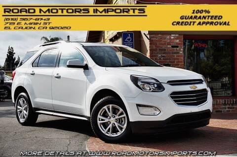 2017 Chevrolet Equinox for sale at Road Motors Imports in El Cajon CA