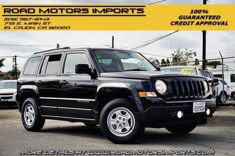 2014 Jeep Patriot for sale at Road Motors Imports in El Cajon CA