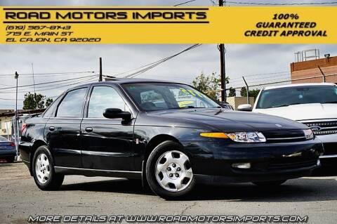 2001 Saturn L-Series for sale at Road Motors Imports in El Cajon CA