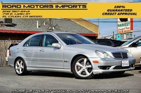 2005 Mercedes-Benz C-Class for sale at Road Motors Imports in El Cajon CA