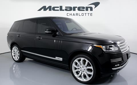 2015 Land Rover Range Rover for sale in Charlotte, NC