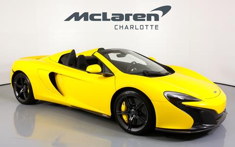 2015 McLaren 650S Spider for sale in Charlotte, NC