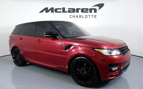 Range Rover Charlotte >> 2017 Land Rover Range Rover Sport For Sale In Charlotte Nc