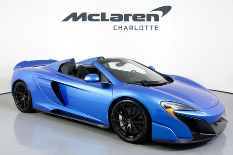2016 McLaren 675LT Spider for sale in Charlotte, NC