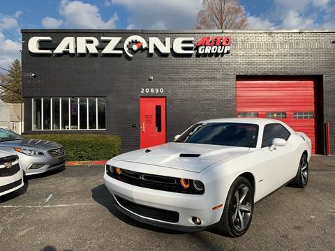 2018 Dodge Challenger for sale in Warren, MI