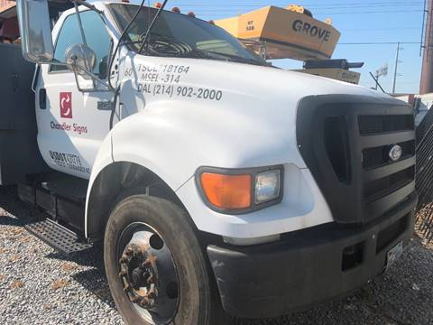 2004 Ford F-750 for sale in Donna, TX