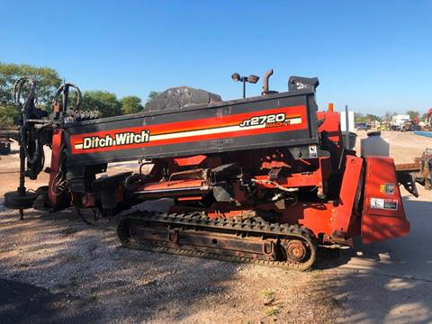 2001 DITCHWITCH JT2720 for sale at JHS Machinery - Heavy Equipment in Donna TX
