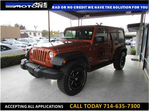 2011 Jeep Wrangler Unlimited for sale in Anaheim, CA