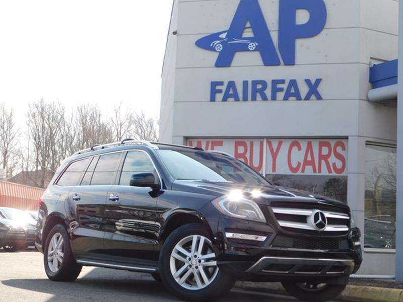 2014 Mercedes-Benz GL-Class for sale at AP Fairfax in Fairfax VA