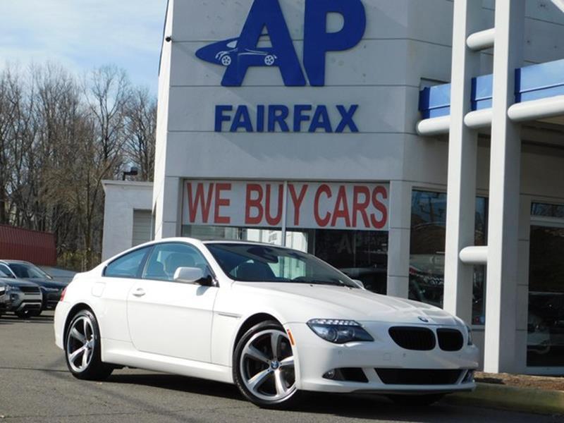 2009 BMW 6 Series for sale at AP Fairfax in Fairfax VA