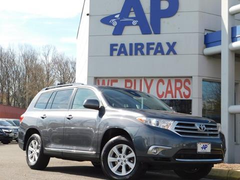 2013 Toyota Highlander for sale at AP Fairfax in Fairfax VA
