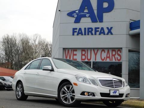 2010 Mercedes-Benz E-Class for sale at AP Fairfax in Fairfax VA