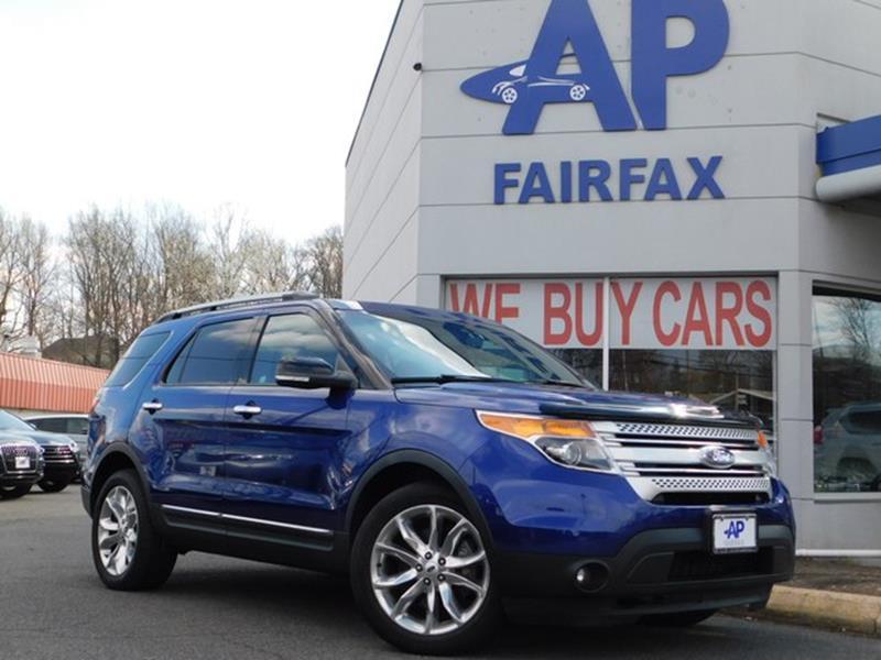 2013 Ford Explorer for sale at AP Fairfax in Fairfax VA