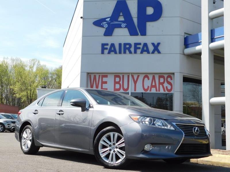 2013 Lexus ES 350 for sale at AP Fairfax in Fairfax VA