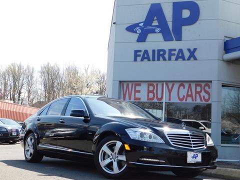 2012 Mercedes-Benz S-Class for sale at AP Fairfax in Fairfax VA