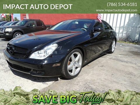 2008 Mercedes-Benz CLS for sale in Hialeah, FL
