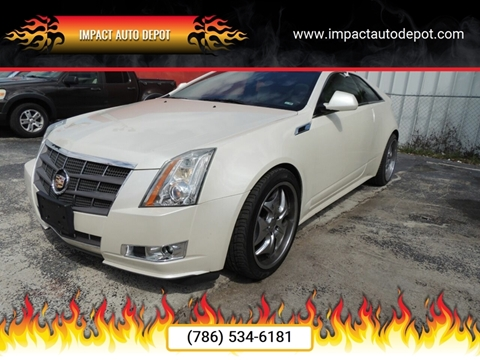 2011 Cadillac CTS for sale in Hialeah, FL