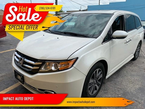 2015 Honda Odyssey for sale in Hialeah, FL
