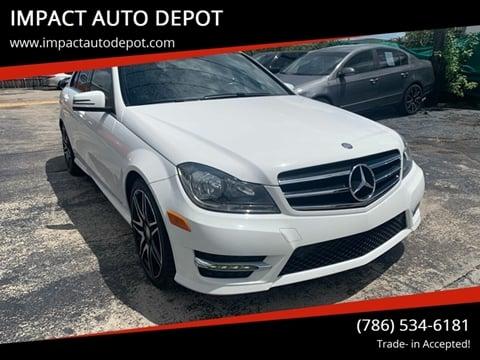 2014 Mercedes-Benz C-Class for sale in Hialeah, FL