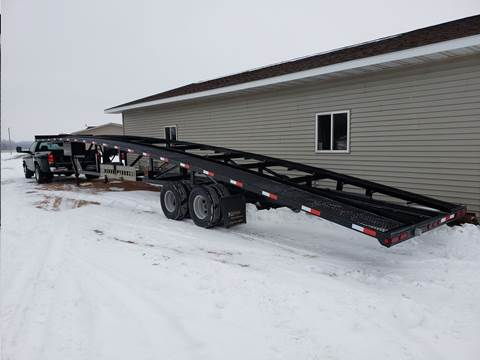2016 Kaufman 5th Wheel Car Hauler for sale in Spencer, WI