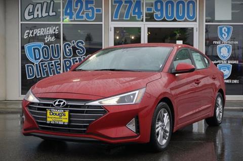 2020 Hyundai Elantra for sale in Lynnwood, WA