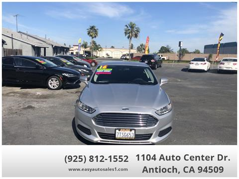 2016 Ford Fusion for sale in Antioch, CA