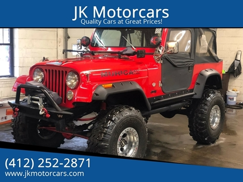 1980 Jeep CJ-7 for sale in Pittsburgh, PA
