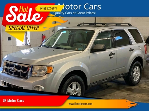 2010 Ford Escape For Sale >> Ford Escape For Sale In Pittsburgh Pa Jk Motor Cars