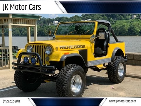 1986 Jeep CJ-7 for sale in Pittsburgh, PA