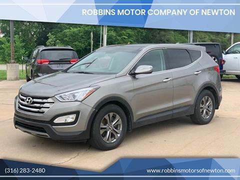 2013 Hyundai Santa Fe Sport for sale at Robbins Motor Company of Newton in Newton KS