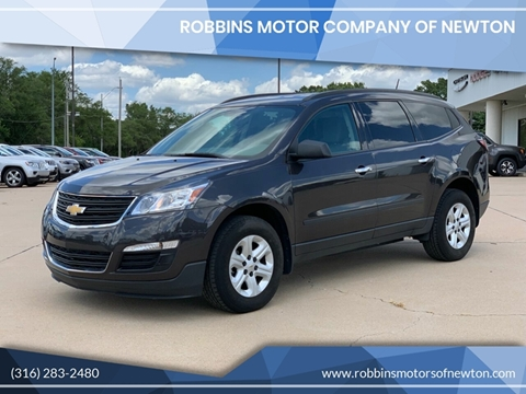 2017 Chevrolet Traverse for sale at Robbins Motor Company of Newton in Newton KS