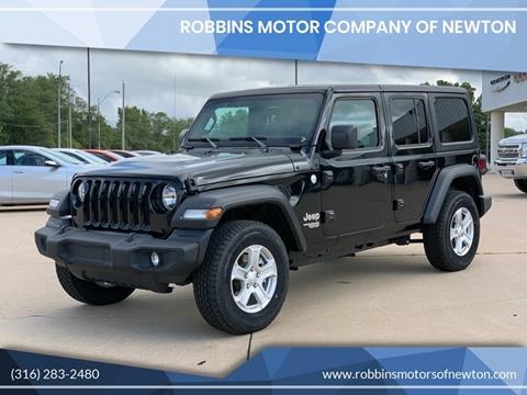 2019 Jeep Wrangler Unlimited for sale in Newton, KS