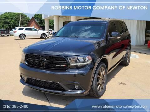 2016 Dodge Durango for sale at Robbins Motor Company of Newton in Newton KS
