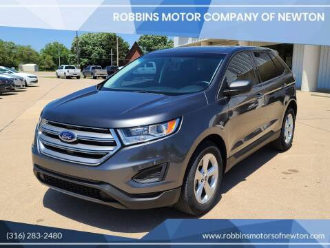 2016 Ford Edge for sale at Robbins Motor Company of Newton in Newton KS