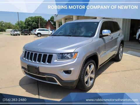 2014 Jeep Grand Cherokee for sale at Robbins Motor Company of Newton in Newton KS