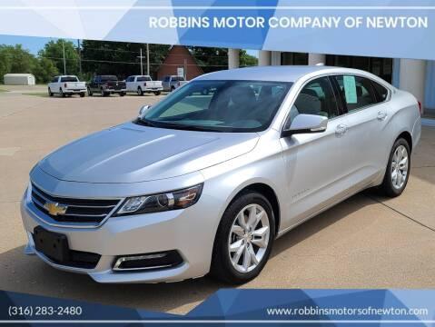 2019 Chevrolet Impala for sale at Robbins Motor Company of Newton in Newton KS