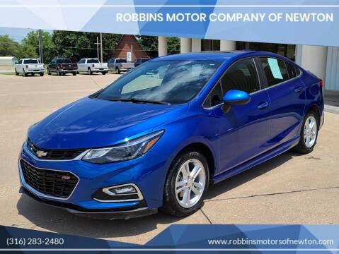 2018 Chevrolet Cruze for sale at Robbins Motor Company of Newton in Newton KS