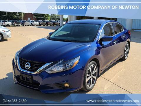 2017 Nissan Altima for sale at Robbins Motor Company of Newton in Newton KS