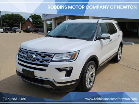 2019 Ford Explorer for sale at Robbins Motor Company of Newton in Newton KS